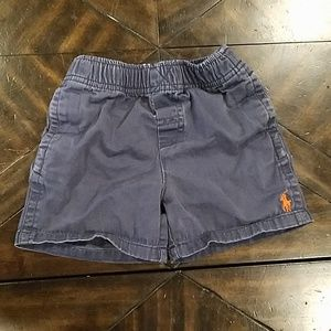 Polo shorts- 12 months